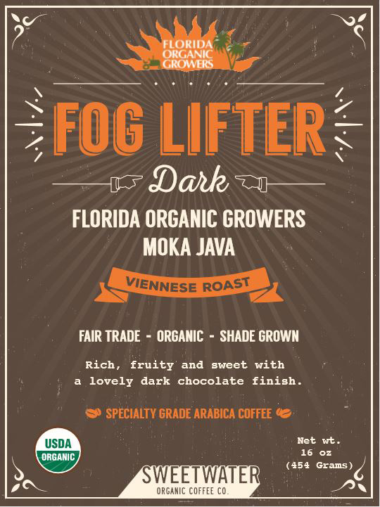 FOG LIFTER DARK - FLORIDA ORGANIC GROWERS VIENNESE ROAST